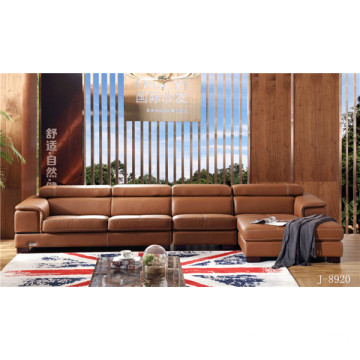 High Quality for Soft Leather Sofa Modern Living Room Furniture supply to Russian Federation Exporter